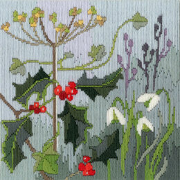 Derwentwater Designs Long Stitch Seasons - Winter Kit