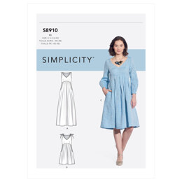 Simplicity Misses' Dress S8910 - Sewing Pattern