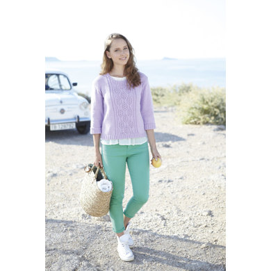 Girl's and Women's Sweater in Sirdar Country Style DK - 7034