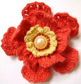 Red Flower 25 – Red Peach