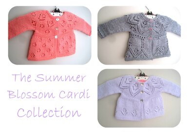 The Summer Blossom Cardi Collection E-Book