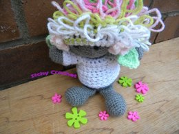 Inchoate Moss Fairy Sweater and Wig Set