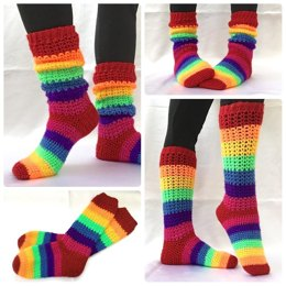 Laticia Slouchy Socks