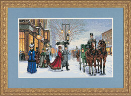Dimensions Alan Maley's Gracious Era Cross Stitch Kit - 41cm x 25cm