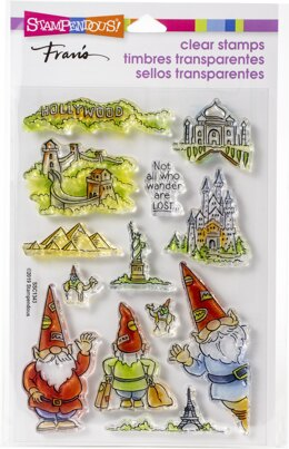 Stampendous Perfectly Clear Stamps - Gnome Travels