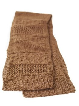 The Road Scarf  in Lion Brand Wool-Ease - 70023