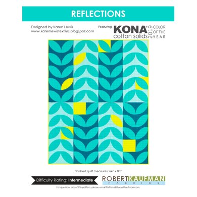 Robert Kaufman Reflections - Downloadable PDF