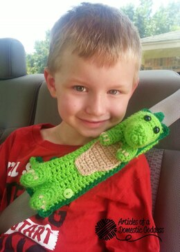 Seat Belt Cover - Dragon / Dino Travel Pal