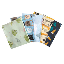 Craft Cotton Company Animals Delight Fat Quarter Bundle