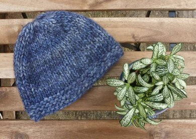 Venice Super Chunky Unisex Hat Knitting Pattern By Faye Perriam