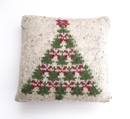 Fair Isle Christmas Tree charts & cushion cover