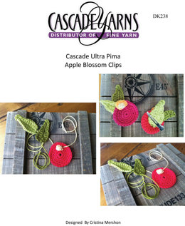 Apple Blossom Clips in Cascade Ultra Pima -  DK238