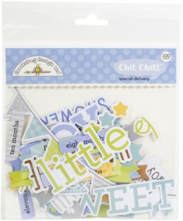 Doodlebug Odds & Ends Chit Chat Die-Cuts - Special Delivery