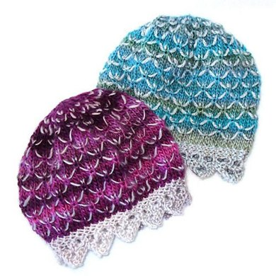 Dragon Scale Hat Knitting Pattern By Craft Designs For You