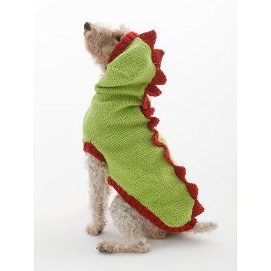 Dragon Slayer Dog Sweater in Lion Brand Wool Ease - L30274
