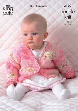 Jackets and Tank Top in King Cole Splash DK - 3120