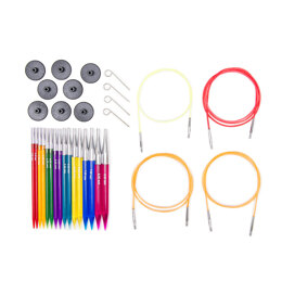 KnitPro Trendz Interchangeable Needle Tips (Deluxe Set of 8)