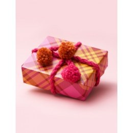 Pompom Gift Decoration in Bernat Softee Chunky