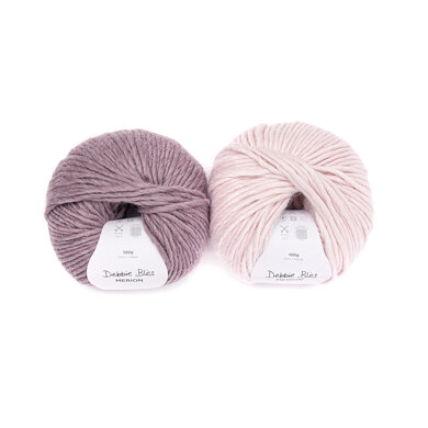 Debbie Bliss Merion Anya Hat 2 Ball Project Pack