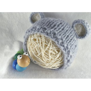 The Baby Bear Hat Knitting Pattern By Kyah Bronte