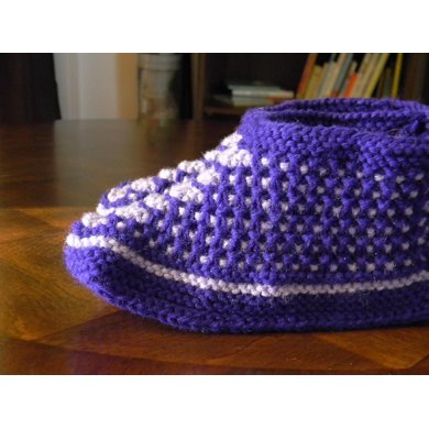 Slip-Stitch Slippers