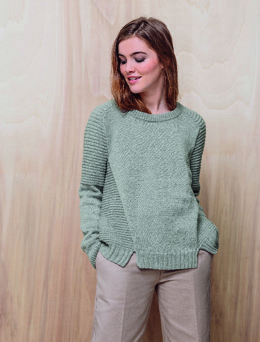 d1b543acdb9755 Lou Sweater in Phildar Merinos 3.5 - Downloadable PDF