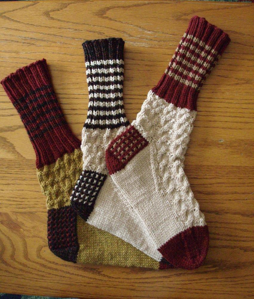 Boot Socks Knitting Pattern : Up North Boot Socks Knitting pattern by Phyll Lagerman Knitting Patterns ...