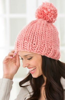 Create Some Charm Hat in Red Heart Grande - LW4405