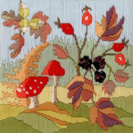 Derwentwater Designs Long Stitch Seasons - Autumn Kit
