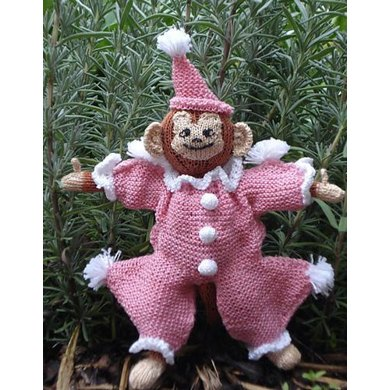 Sam's Clown  Outfit Knitting Pattern