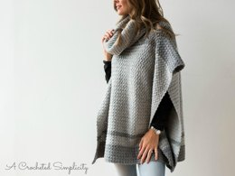 Emelyn Cowl Neck Poncho