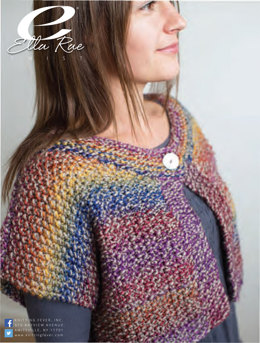 Moss Stitch Jacket in Ella Rae Twist - ER12-03 - Downloadable PDF