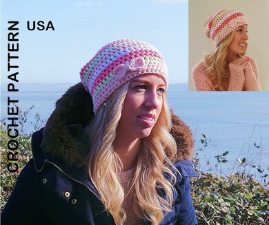 89c3e16013f The Spring Slouch Beanie USA.  3.23. off. Downloadable pattern. Independent  Designer. By Kerry Jayne Designs