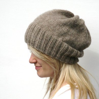 Dk Eco Slouchy Hat Knitting Pattern By Haloopa Joop Knitting