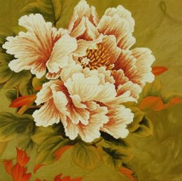 Needleart World Blooming Peony I No-Count Cross Stitch Kit (11 count) - N450-038