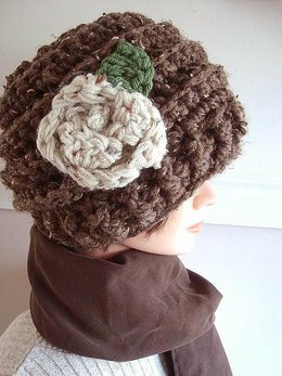 515 WOOLIE CROCHET BEANIE, age 5 to adult