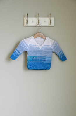 Little Dreamer Pullover in Universal Yarn Little Bird - Downloadable PDF