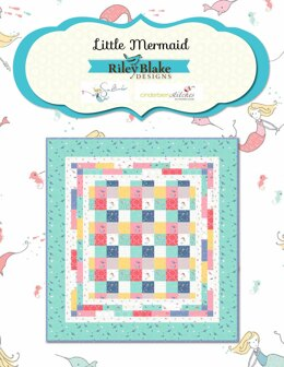 Riley Blake Little Mermaid Quilt - Downloadable PDF