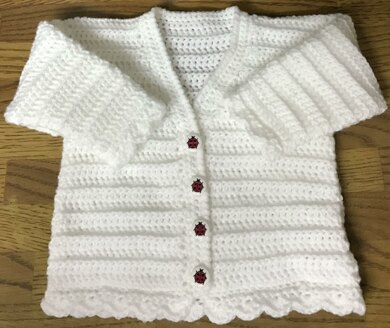 V Neck Cardigan Baby/Child - 1009