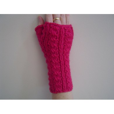 Candy Ribbon Mitts