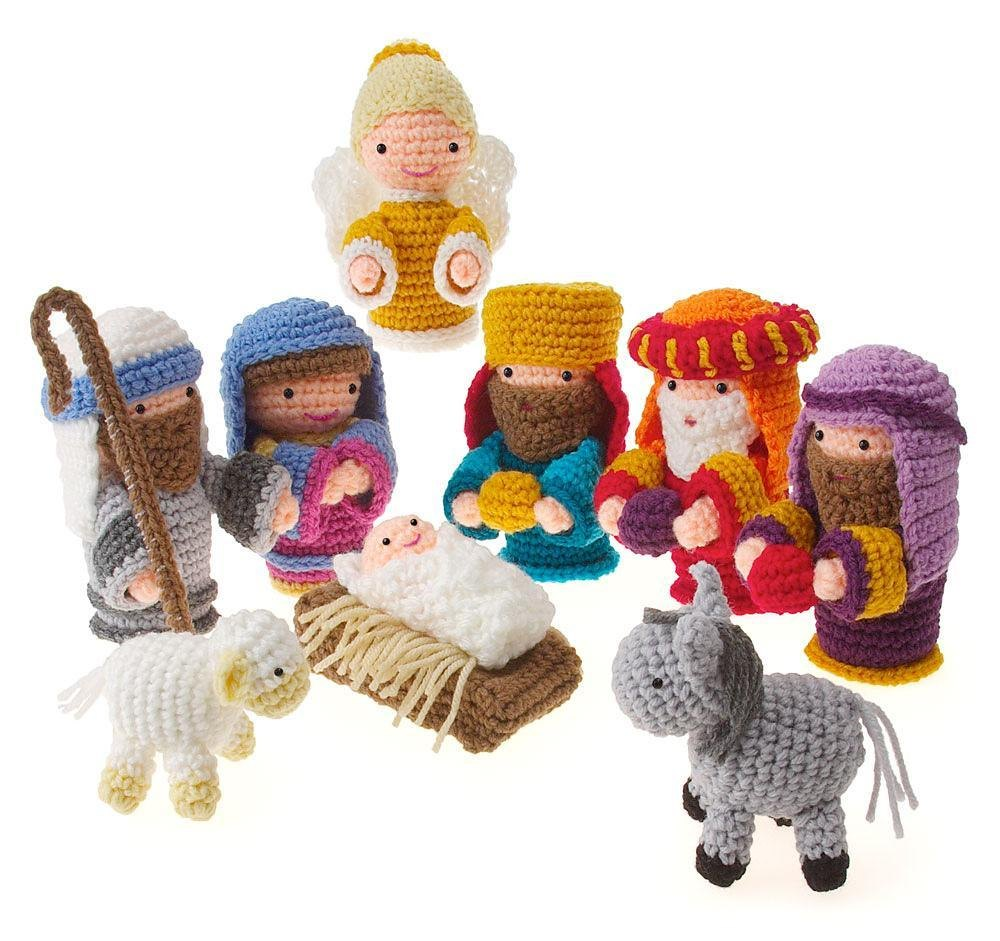 Amigurumi Nativity Crochet pattern by Carolyn Christmas | Crochet ...
