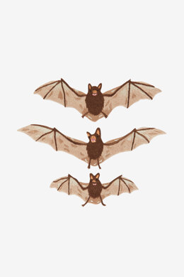 Bats in DMC - PAT0799 -  Downloadable PDF