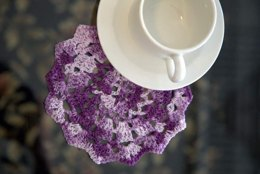 Crochet Doily in Plymouth Yarn Anne - F623