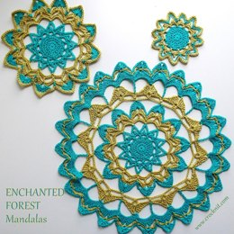 ENCHANTED FOREST Mandalas USA