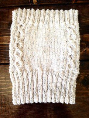 Lilie's Cabled Diaper Cover
