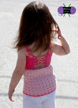 Gracie Lace Tank - Baby