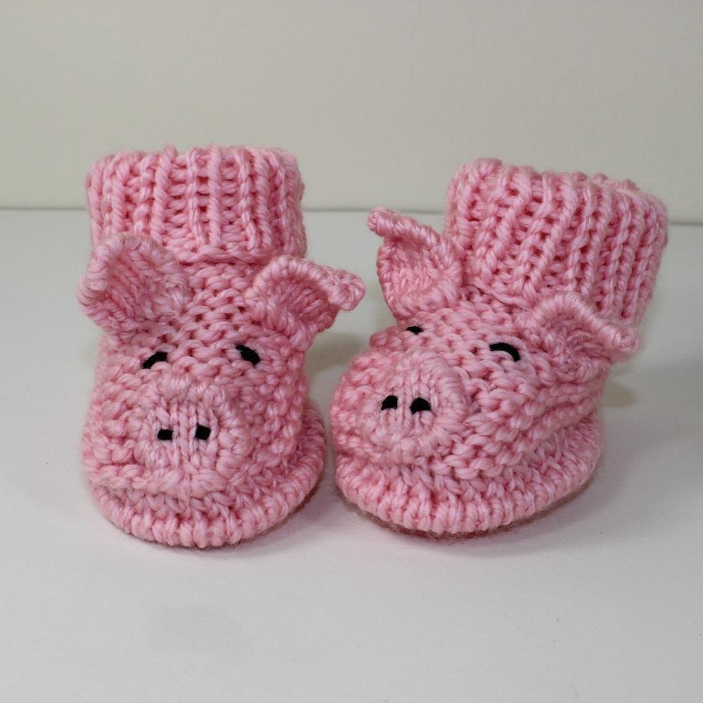 Knitting Patterns For Toddlers Boots : Toddler Piggy Boots Knitting pattern by madmonkeyknits Knitting Patterns ...