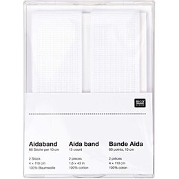 "Rico 15ct Aida Band 1.6"" x 43"""