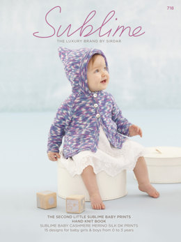 The Second Little Sublime Baby Prints Hand Knit Book by Sublime