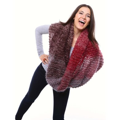 Libby Cowls in Be Sweet Medium Brushed Mohair